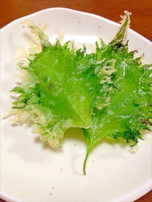 葉っぱの天ぷらの存在意義wwwwwwwwwwwwwwwwww