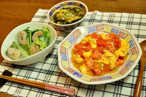 【中華料理】トマトと卵を炒めたやつ、なかなか定着しない