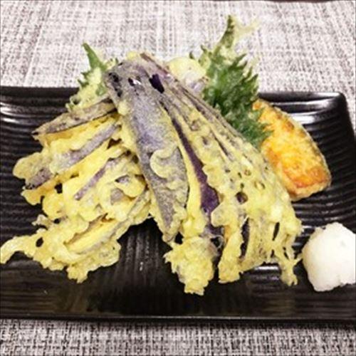 天ぷらで一番おいしいのってナスだよな?