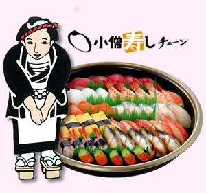 昔は小僧寿司がご馳走だったよな