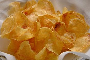 自宅でポテトチップスを美味しく作るコツ