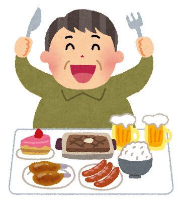 1日の摂取カロリー1000kcal超えてるやつwwwwwwwwwww