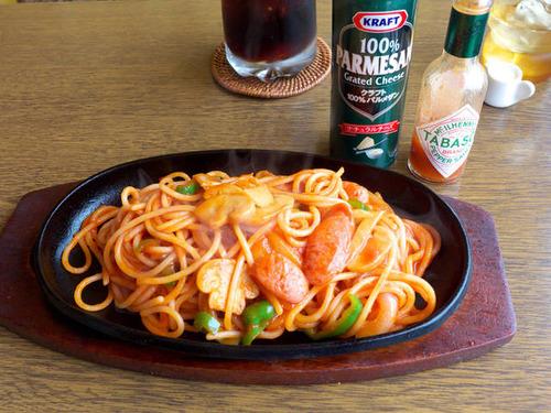 おっさんってスパゲッティ食べる?
