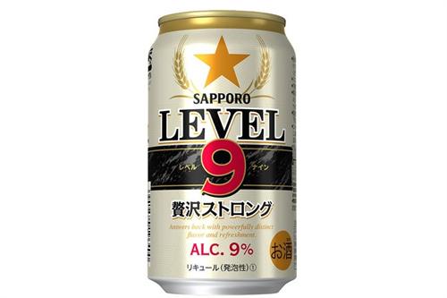 新たなストロング系登場、第3のビールでアルコール9%