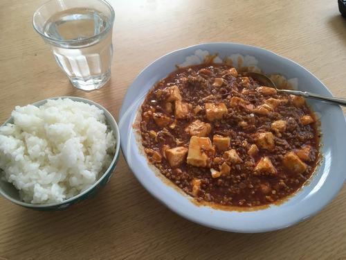激辛麻婆豆腐作ったで!