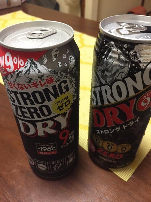やっぱ最強の缶酎ハイはローソンで売ってるサンガリアの「ストロング ドライ」だよね。9%&500mlで125円
