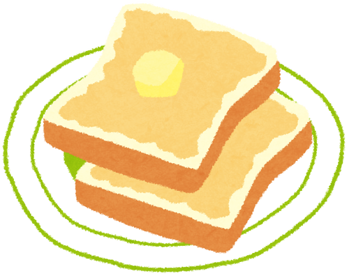 トーストのうまさは異常