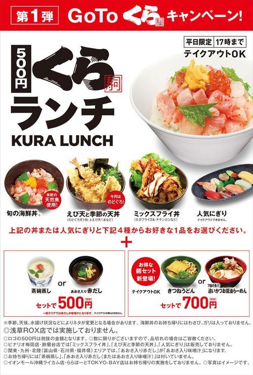 【朗報】GOTOくら寿司キャンペーン、ガチで安くてお得すぎる