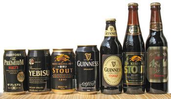 スタウト、黒ビール、ブラックビール好きちょっとこい