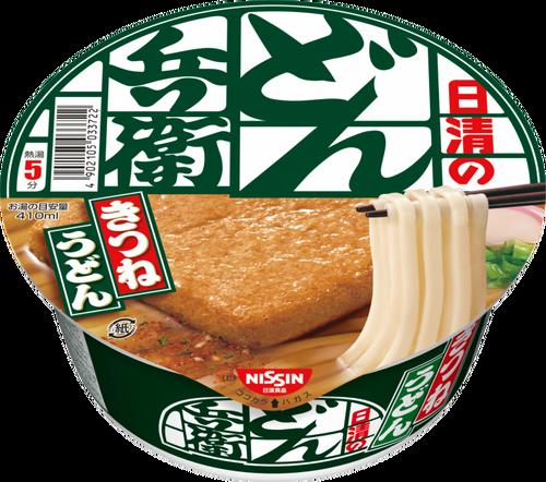 どん兵衛東日本味、西日本味を両方の地区で販売