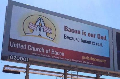 アメリカ人「ベーコン美味すぎだろ、ベーコンは神!」俺「わかる」アメリカ人「だからベーコンを祀る宗教作ったわ」俺「!?」