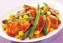 ツンデレが教える豚肉とインゲンの炒め物とタイカレーの美味しい作り方