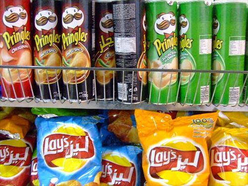 プリングルスとかいうスナック菓子wwwwwwwwwwwwwwww