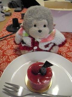 みに丸ケーキ