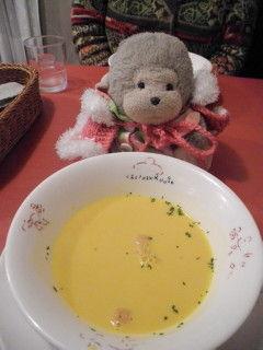 05カボチャのクリームスープ