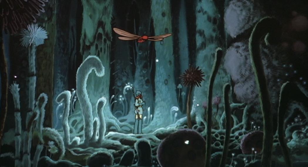風の谷のナウシカの腐海