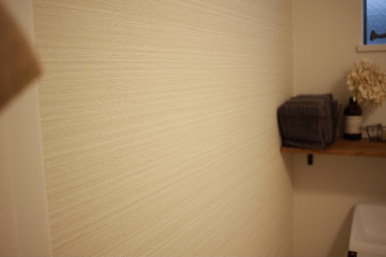 新居版 トイレdiyの詳細 壁塗り編 Chairs And ナチュラルな