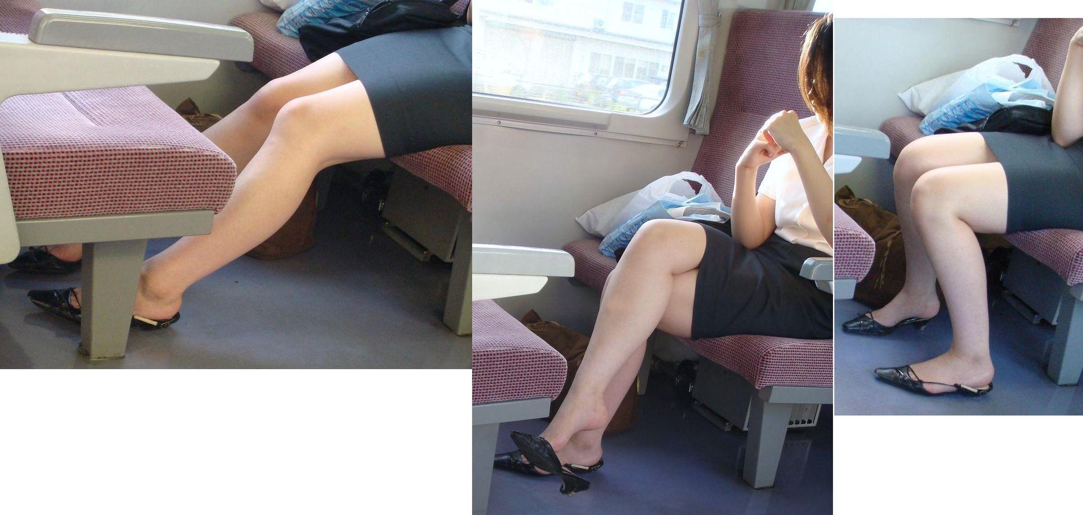 お姉さんのセクシーすぎる生脚