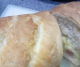 ベーコン・チーズ・フランス・パン