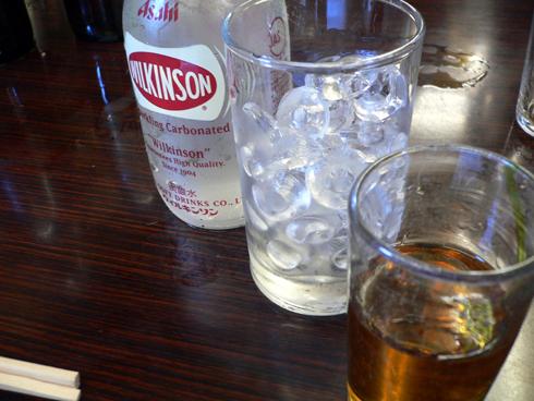 ウイスキー+ソーダ