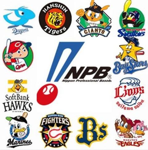 NPB 12球団