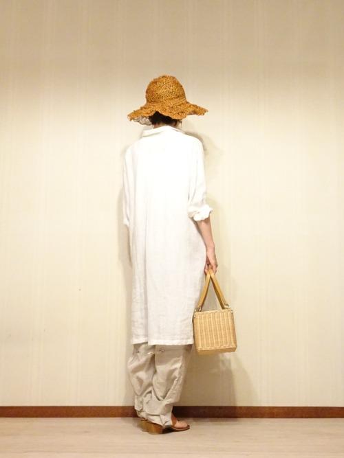 白リネンシャツ (2)