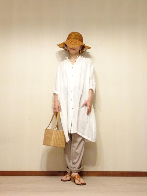 白リネンシャツ (4)