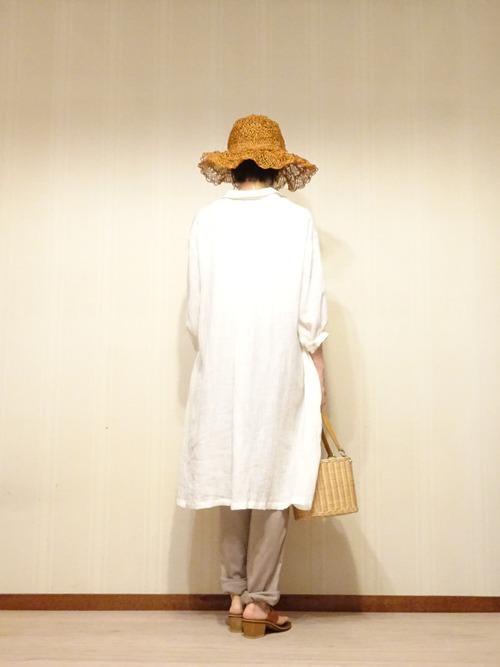白リネンシャツ (5)