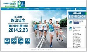 マラソン大会の公式サイト