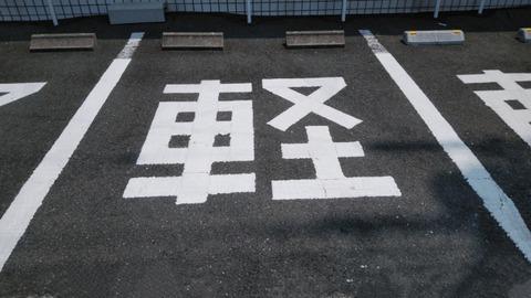 日本は本当に軽自動車が多い