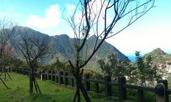 金瓜石からの風景は抜群