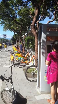 U-bikeのステーション