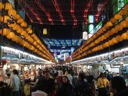 台湾でも有名な基隆にある廟口夜市