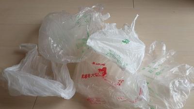 コンビニによくいくとビニール袋が自然に増えていく