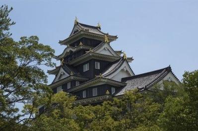 岡山城に中国人観光客があふれる日が果たしてくるのか?