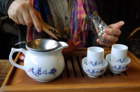 台湾の老板はお茶が好き?