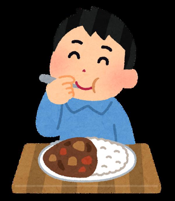 syokuji_curry_man (2)