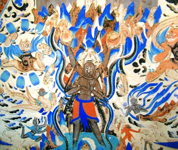 Asura_in_249th_cave_of_Mogao_Caves