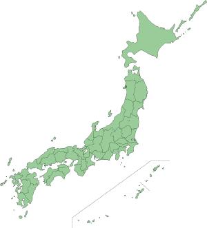 日本地図 (2)