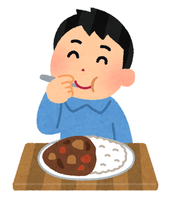 syokuji_curry_man (1)