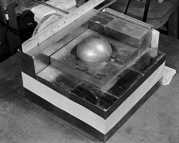 Partially-reflected-plutonium-sphere