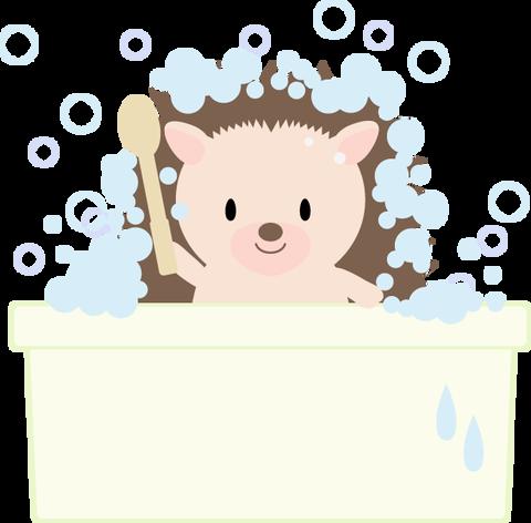 お風呂ハリネズミ_09