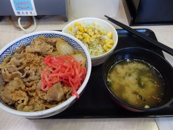 02 牛丼並みAセット