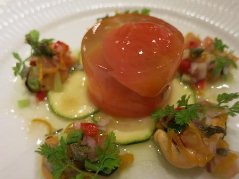 ランチ・前菜・トマト