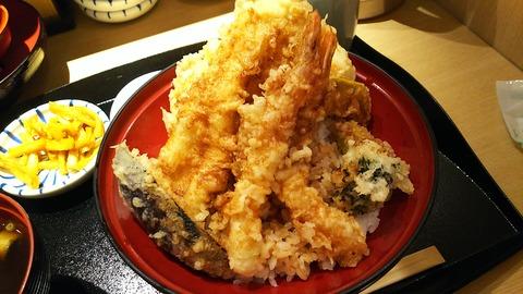 天ぷら食堂 ひさご 江戸NOREN1階 10