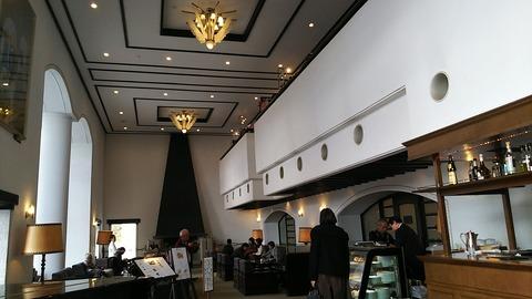 山のホテルラウンジ 元箱根 6
