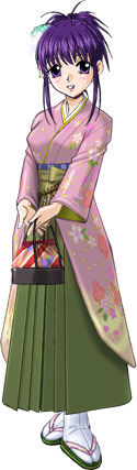 春菜の袴姿