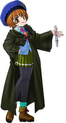 絢夏の魔法学園制服