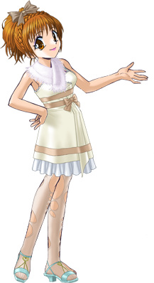 絢夏のホワイトデーズドレス