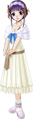 春菜のホワイトデーズドレス